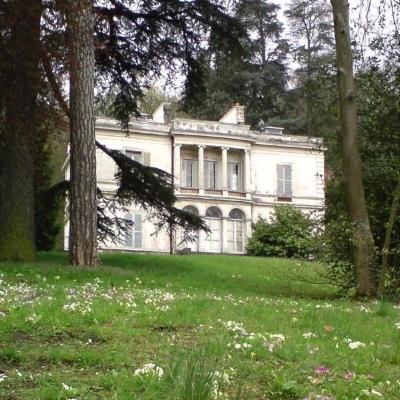 Villa Viardot, purchased for Pauline by Ivan Turgenev.  Source.