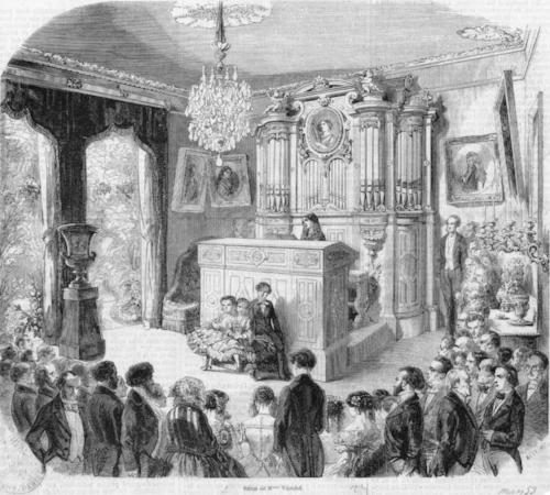 The salon of Pauline Viardot