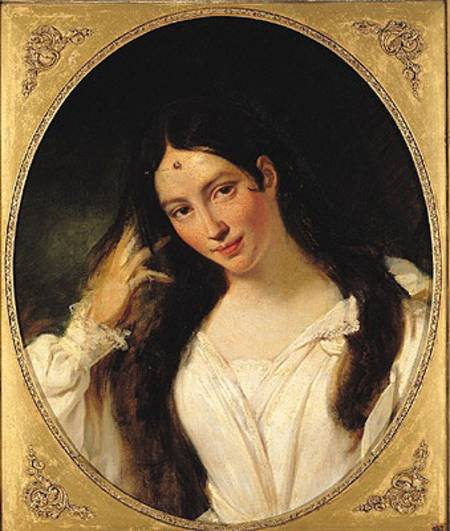 Portrait of Maria Malibran from the Louvre