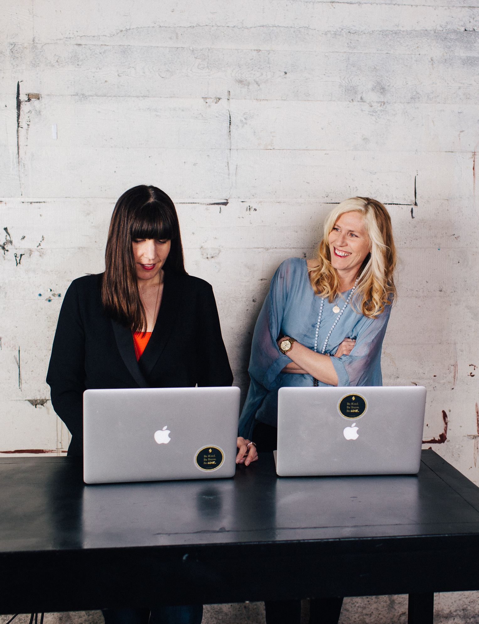 We're Jeni + Sandy (and we know our way around the Internet) - We left our careers in law and a clinical practice because we wanted the freedom and flexibility to live life on our terms and we felt the pull to be more present to our families. But we still felt drawn to contribute, to build, and to create.We joined forces in 2015, and together we've built a software company, an online school, and a growing media business. It's our mission to help you take your expertise and create an online business so you can live life on your terms.