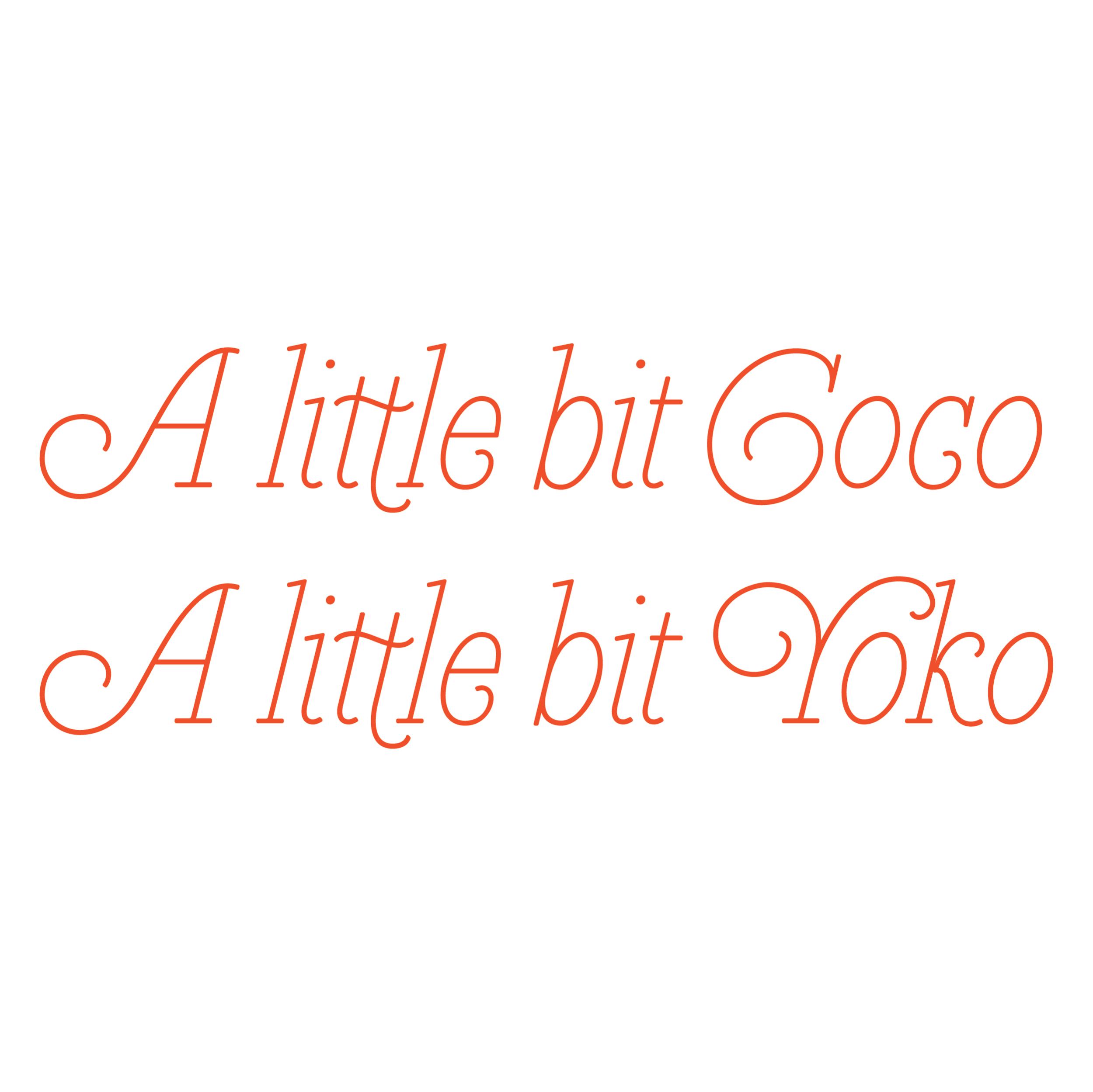 Coco + Yoko