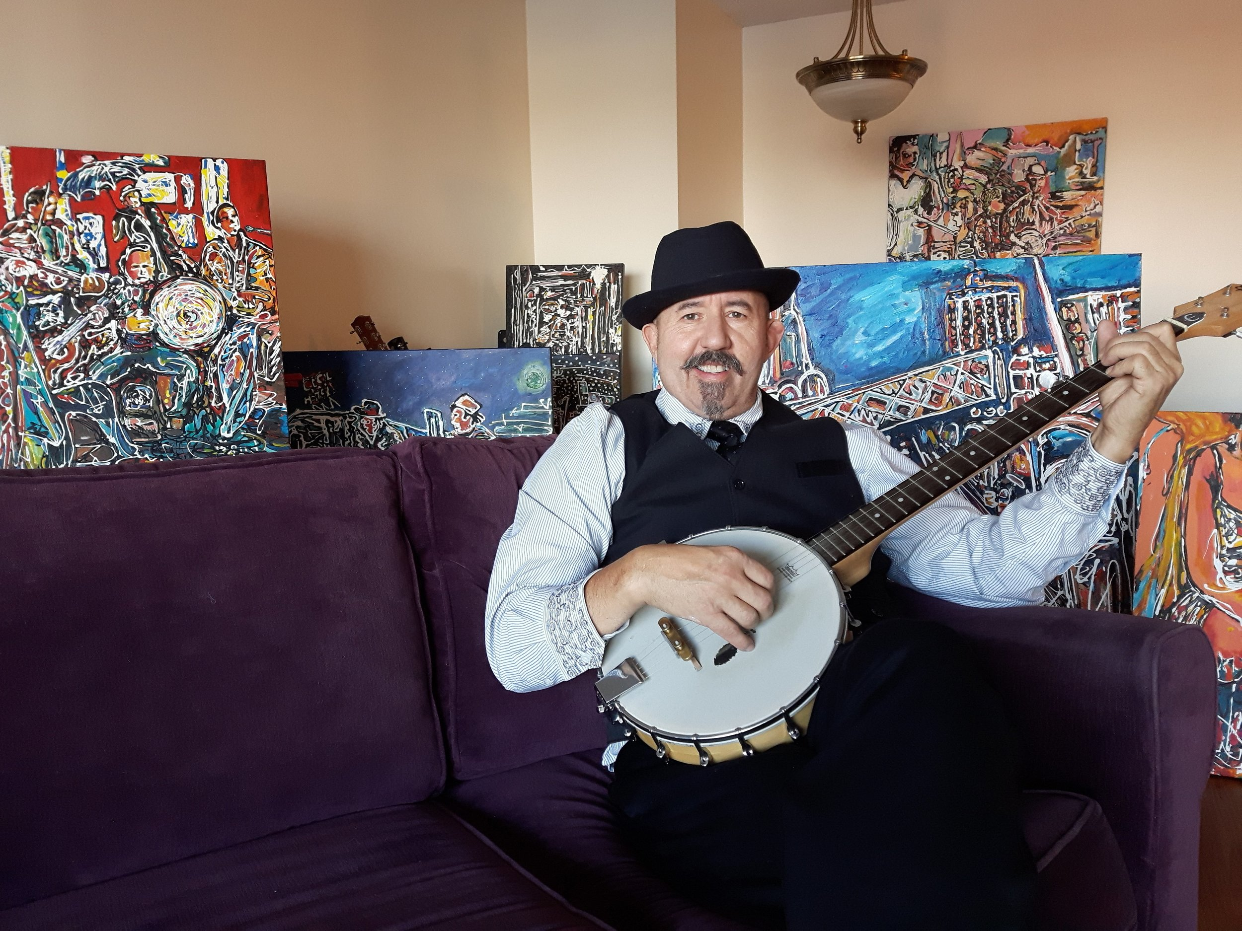 I wanted to be a world class banjo player