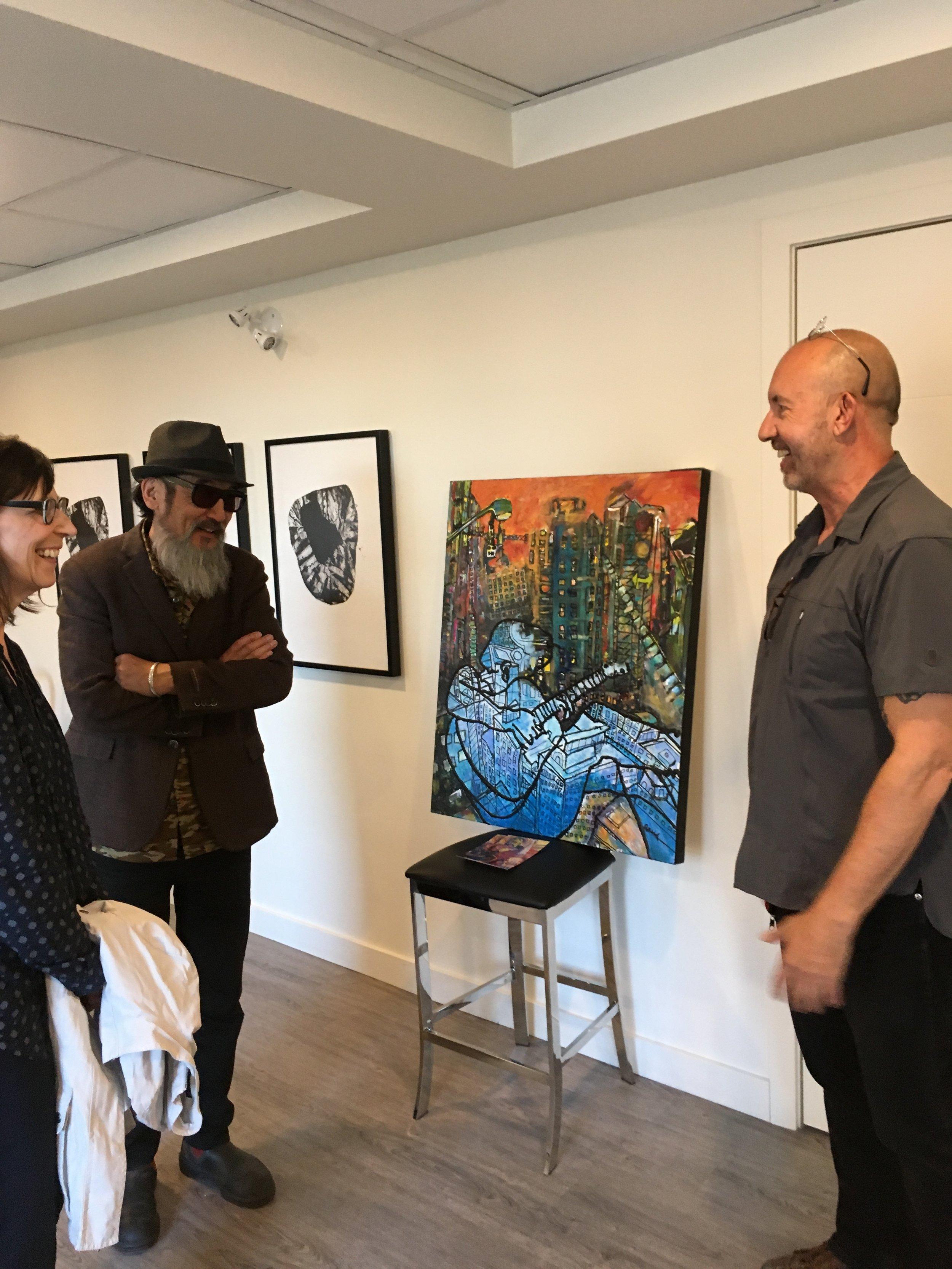 Just talking art