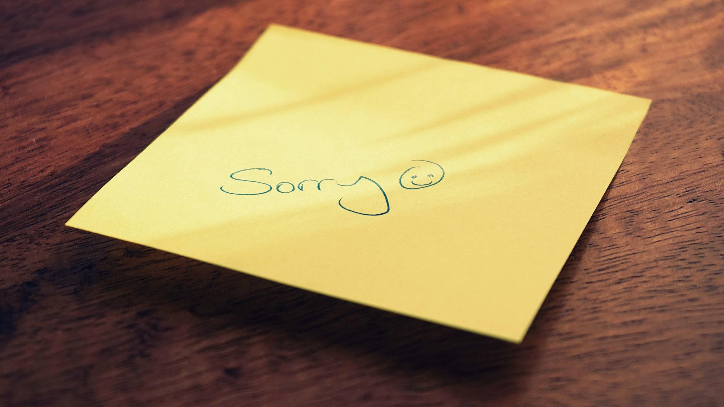 saying sorry means nothing and is manipulation when it's said by a psychological and emotional abuser