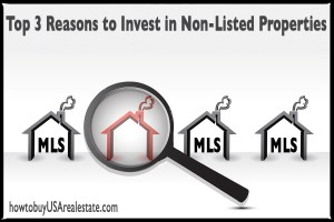 Top 3 Reasons to Invest in Non-Listed Properties