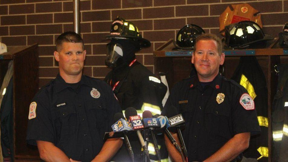 Paramedic and Fire Captain Helped Save 18 year old man and 4-Year Old Girl After Lightning Strike -