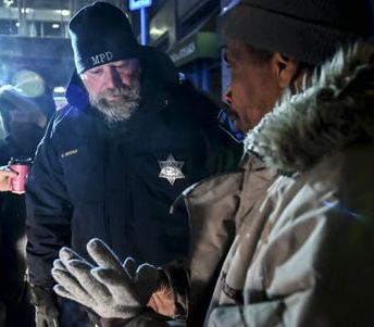 Minnesota LEO hands out cold weather gear to homeless during big freeze - Click here for the complete story.