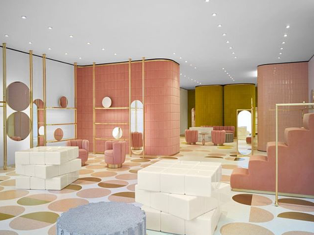 Photo Cred: India Mahdavi Interior Design