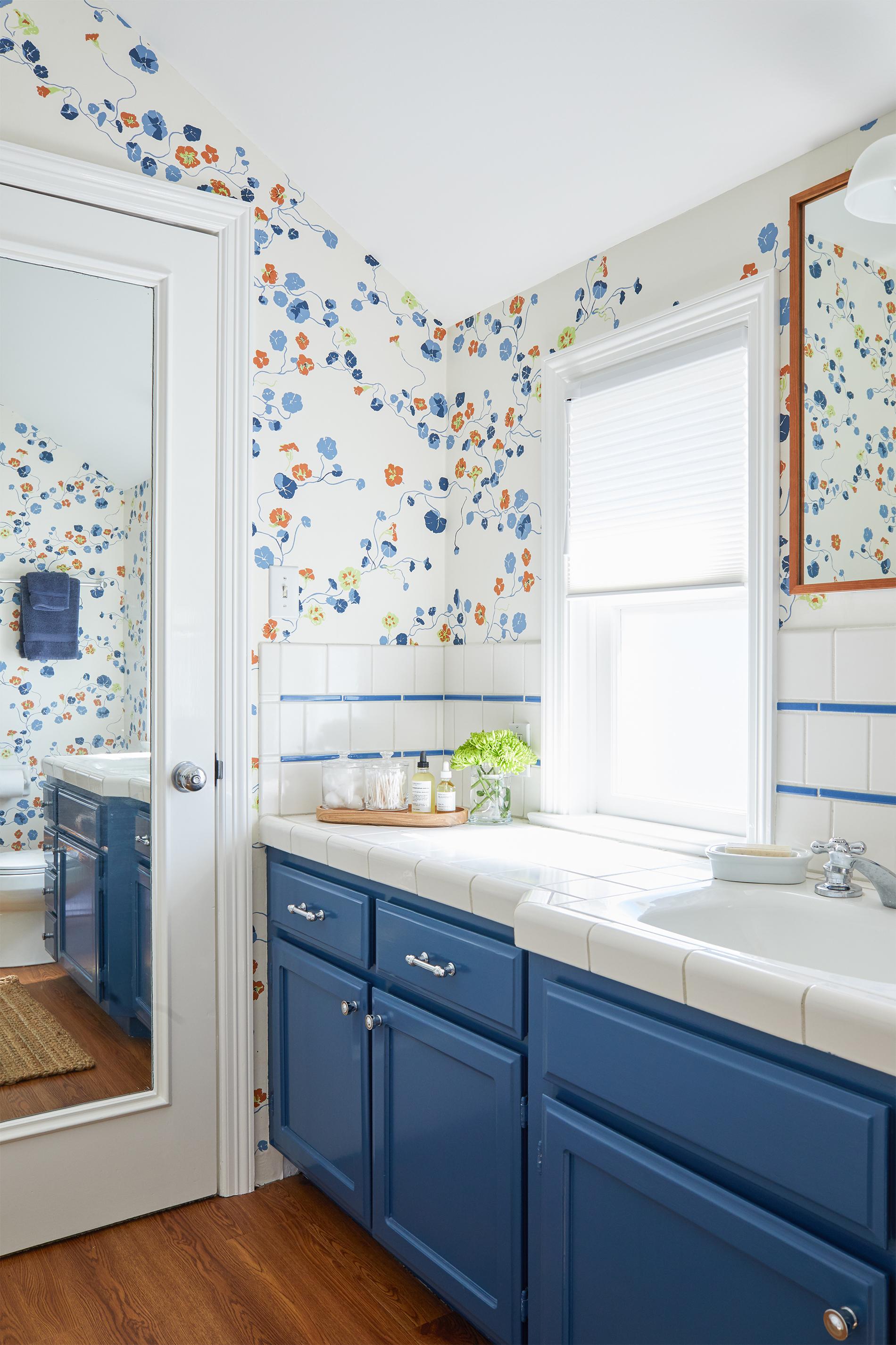 Add a Little *pop* to your Bathroom Routine  xo, Ebright Design