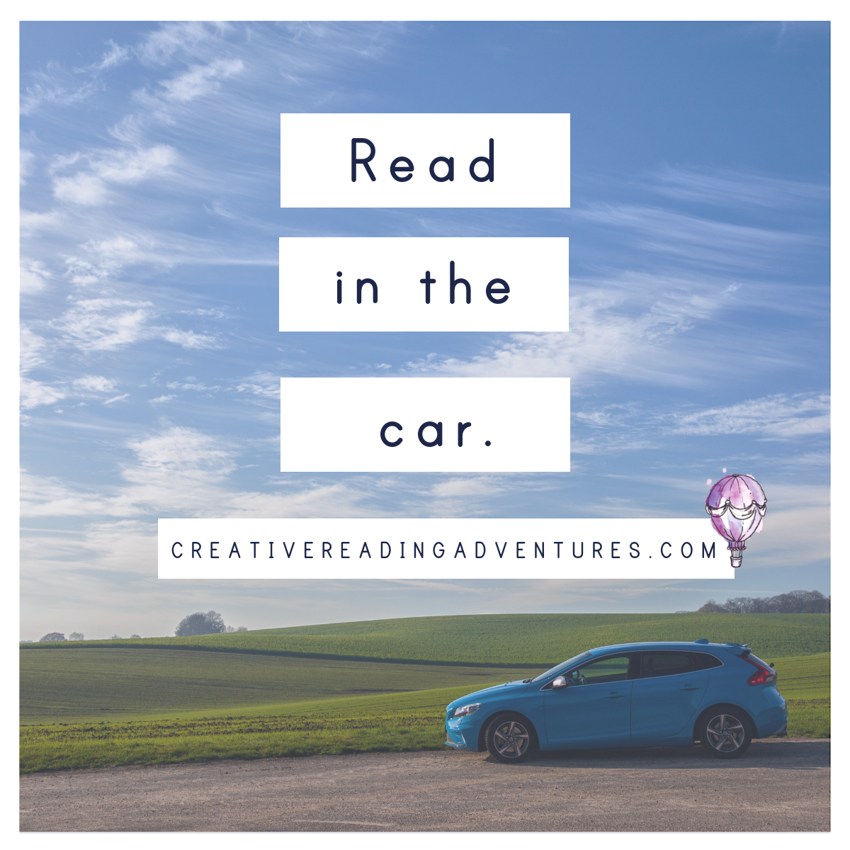 Read in the car