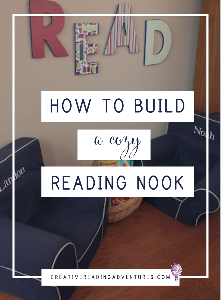 Motivating your kids to read can be difficult. Simply switching the space where you are reading can help make it seem more fun and exciting. Click through to read how to make a cozy reading nook in your home.