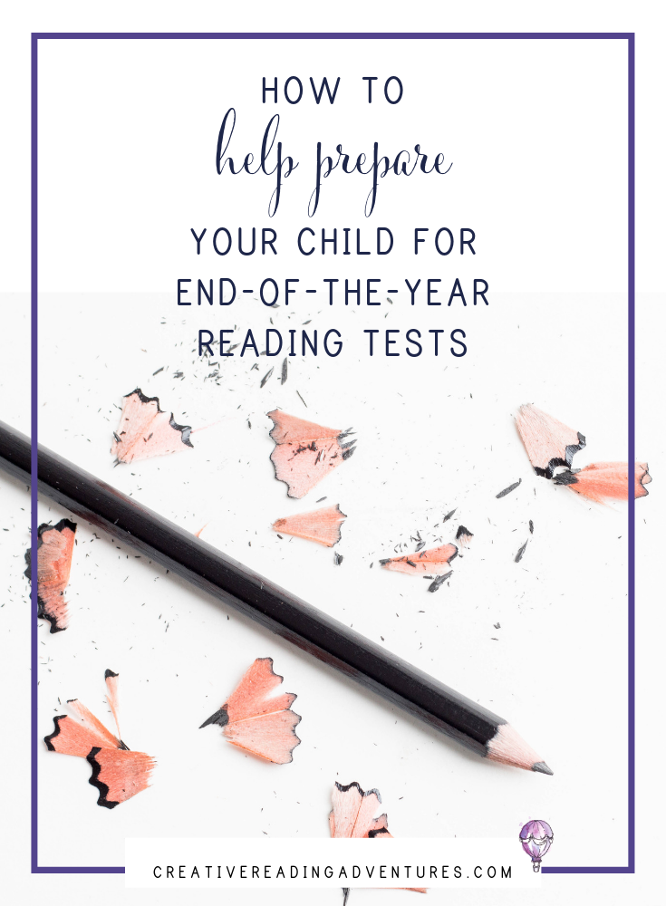 Stressed about those end-of-the-year reading tests? Help your child prepare with these quick and easy tips to do at home! Click through to read how to help your child prepare for those end-of-the-year reading tests.