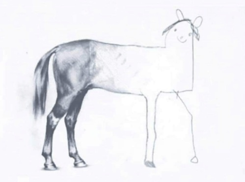 Help us to finish Bee-Sharp with integrity, without cutting corners like this horse!