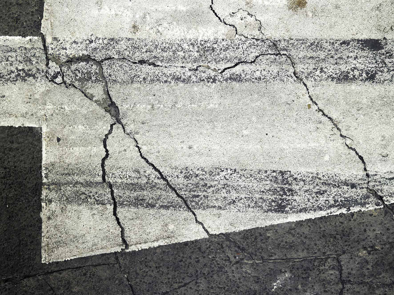 Surface No. 2 , 2012 (Detail)  122 cm x 488 cm x 7.5 cm