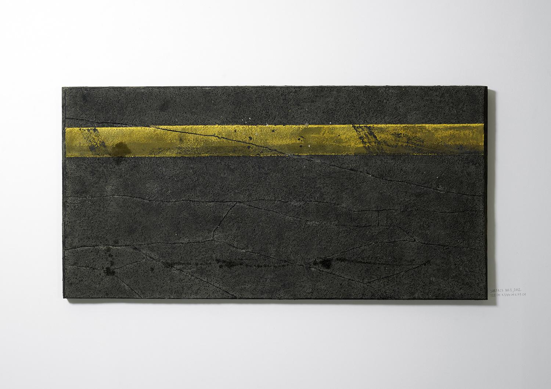 Surface No. 3 , 2012  122 cm x 244 cm x 7.5 cm