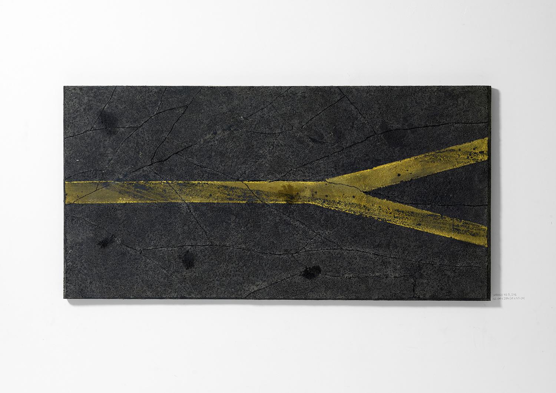 Surface No. 8 , 2012  122 cm x 244 cm x 7.5 cm