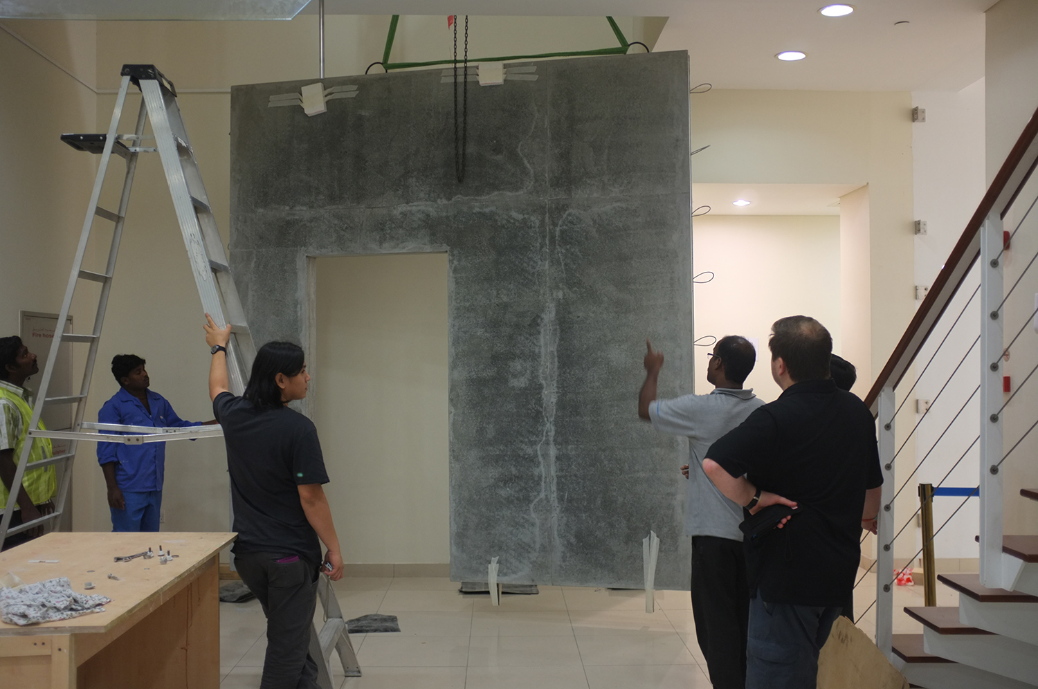 Process image  DUCTAC, Mall of the Emirates