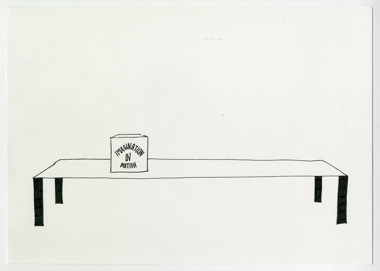 Toy concept , 2017  Ink on acid free fine grain paper 21 x 29.7 cm