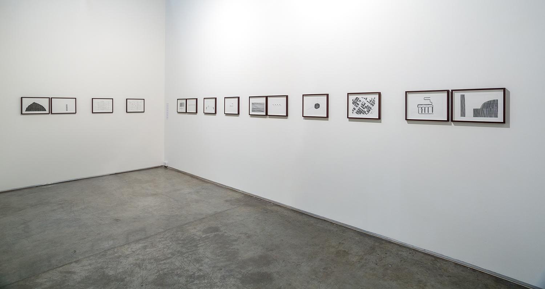 Installation View  Gallery Isabelle van den Eynde