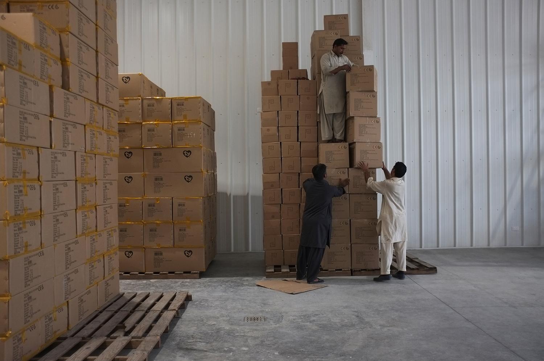 Manual Stacking  Warehouse 82, Alserkal Avenue, Dubai