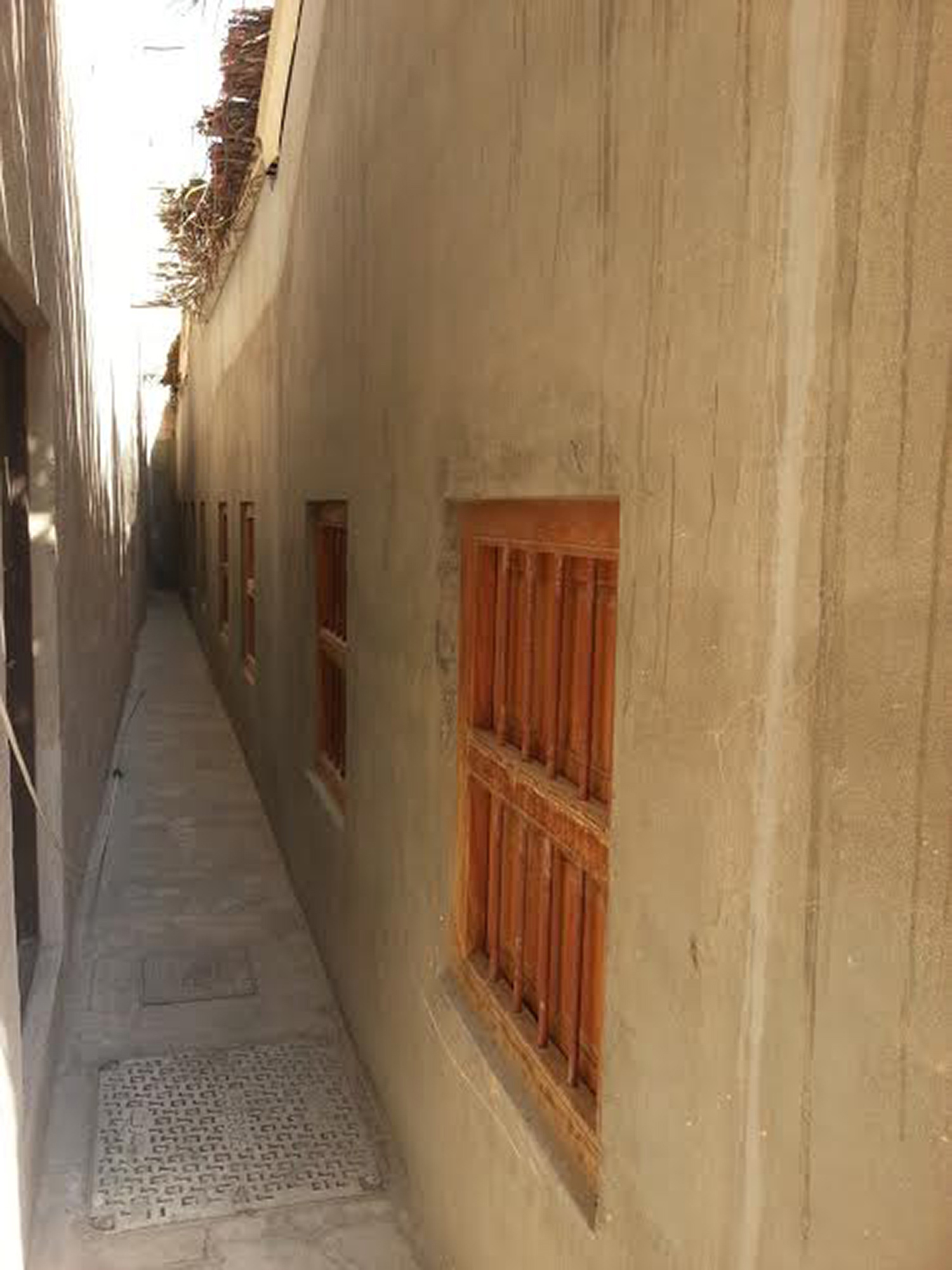 Installation location  Alley between House 11 and House 16, Al Fahidi Historical Neighbourhood