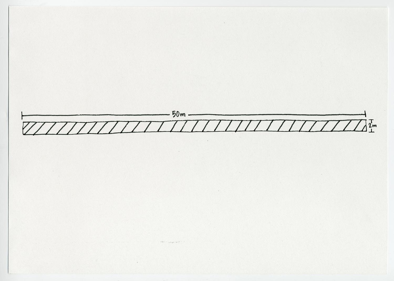 Default Residency , 2017 1 of 2 drawings (Diptych)