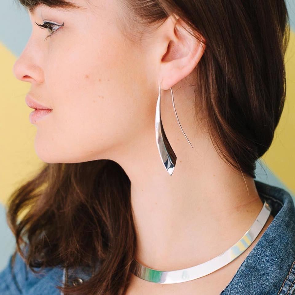 Najo Silver Blade Long Earrings.jpg