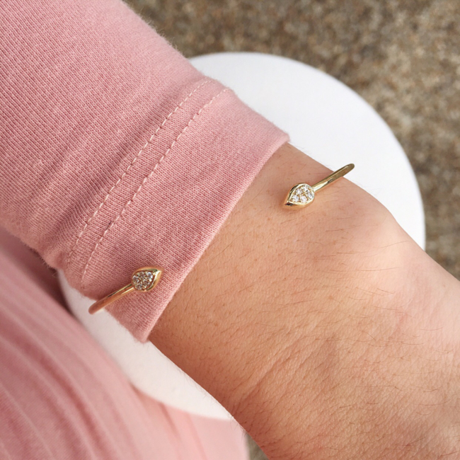 Delicate and fine, this Dreamtime bangle is one of our favourite pieces from the collection.