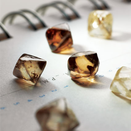 Rough Choc Diamonds