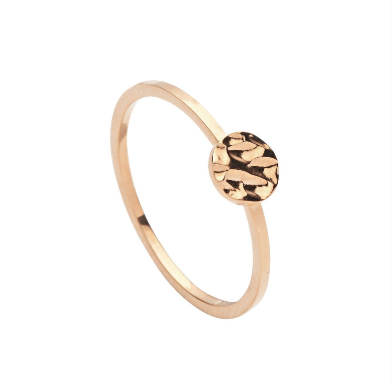 Pastiche Rose Moon Ring - $35