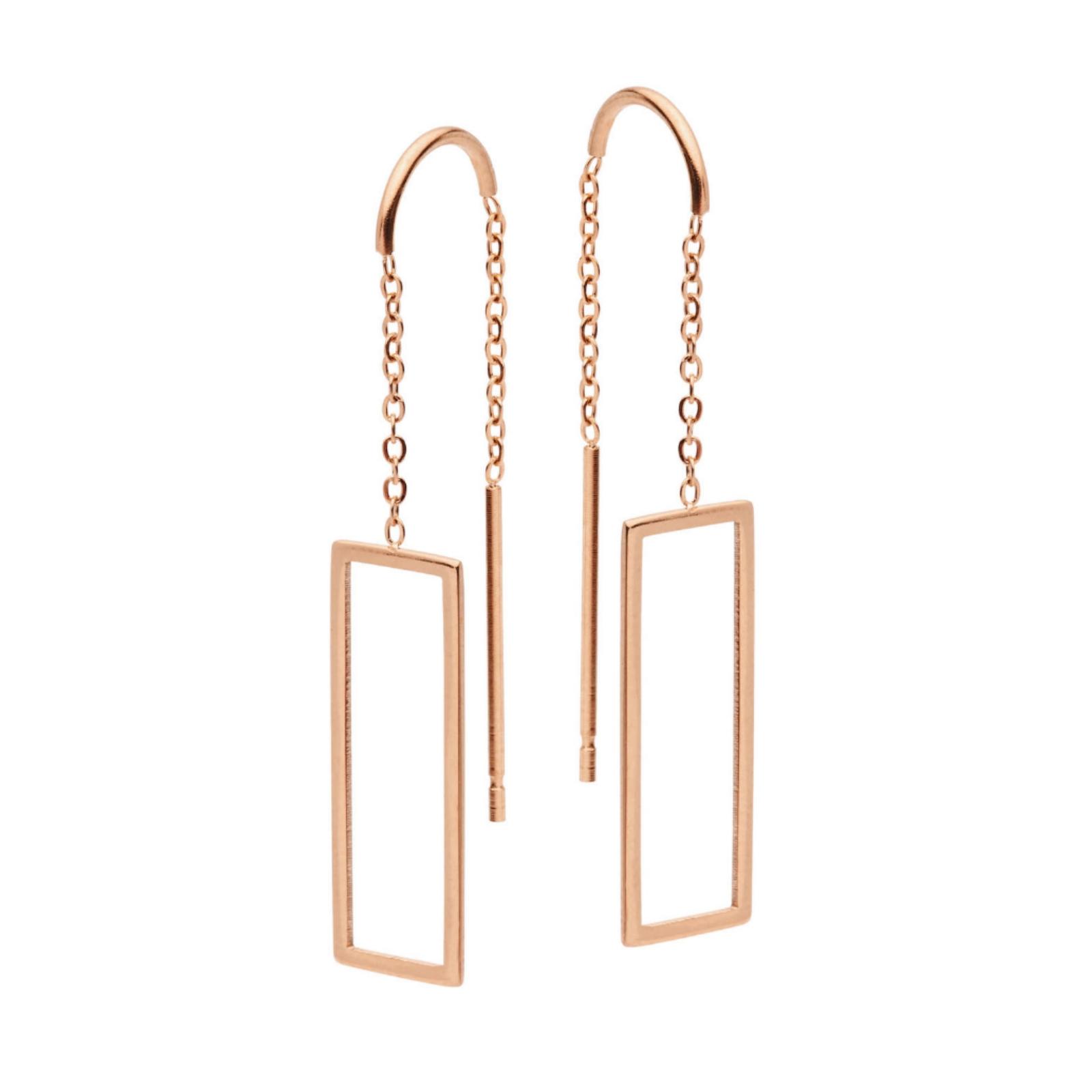 Pastiche Rose Sky Earrings - $40
