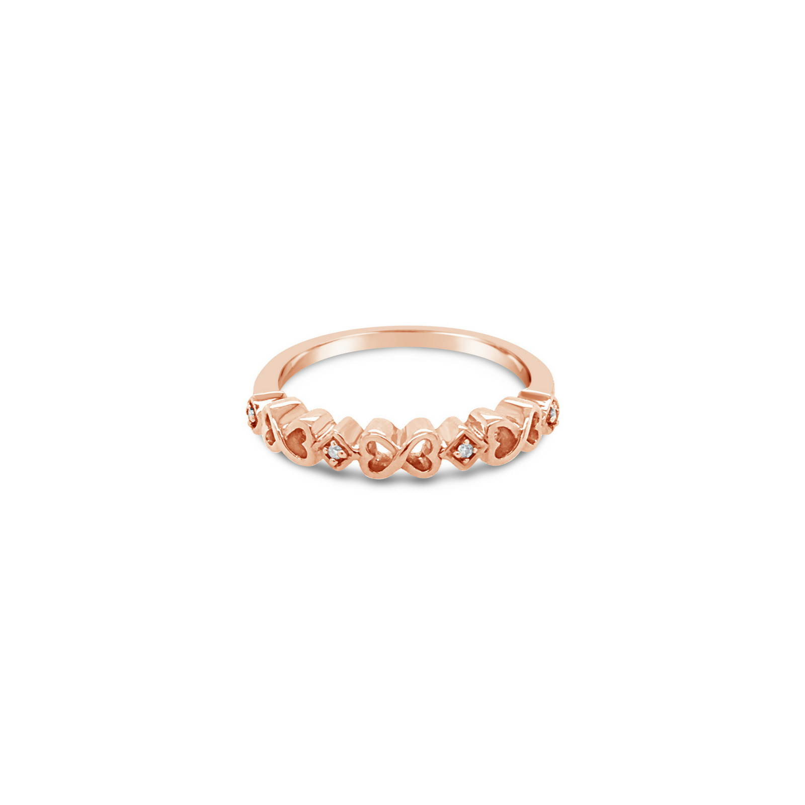 Infinity Heart Ring - $399