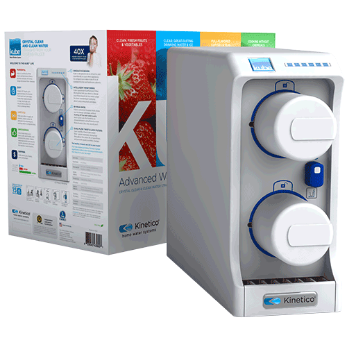 Kube® Advanced Water Filtration System - For improved water qualityKube® installs conveniently and easily under just about any sink, so your filtered water will be dispensed from your existing faucet. You'll be impressed by the plentiful supply of filtered water that Kube® provides for all your drinking and cooking needs. Kube® will improve the quality, taste and smell of your drinking water and give you the peace of mind that you've done more to improve the quality of your water.
