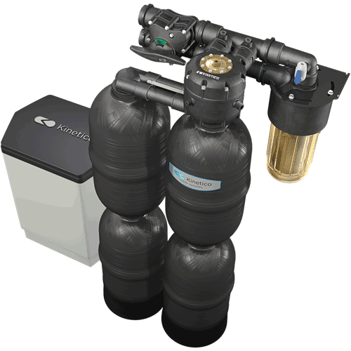 Kinetico Premier Series Water Softeners - Even the toughest water issues are no match for the Kinetico Premier Series water softener. Powered by the kinetic energy of moving water, not electricity, these exceptional water softeners are designed to treat the most severe hard water and iron issues. Certain models in the Premier Series even remove particulate matter and chlorine from your water. The unique multi-tank system provides a reliable, continuous supply of clean water with no timers or computers to set, adjust, repair or replace. And with our AccuDial™ feature, systems can be calibrated to your exact water conditions, which will save on operational costs and eliminate waste. With a strong 10-year warranty behind it, you can rest assured that the Premier Series will provide you with soft, clean water for years to come.