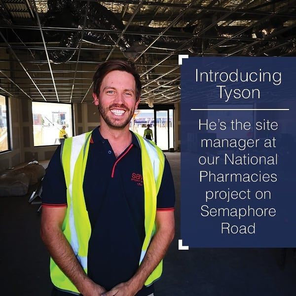 📢 INTRODUCING TYSON FROM @savills 📢Our site manager, who is in charge of delivering our purpose-built development for @nationalpharmacies.At the top of his game, he's ensuring the quality of the construction and safety of all trades on site…as well as making sure everything runs ontime–construction will be completed later this month! Follow us to see the final product 👌  #newbuild #underconstruction #nationalpharmacies #sitemanager #semaphore #savills #almostdone