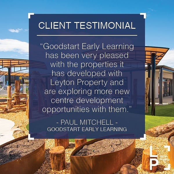 📢 TESTIMONIAL TUESDAY 📢 Thanks to Paul Mitchell from @goodstartmoments_ for your kind words.  We understand the value of collaboration and open communication throughout the design and development process, which is one of the reasons we continue to work with the same clients over and over again. Can't wait for our next project with Goodstart Early Learning!  #testimonialtuesday #goodstart #childcare #earlylearning #newbuild #refurbishment #happyclient #testimonial