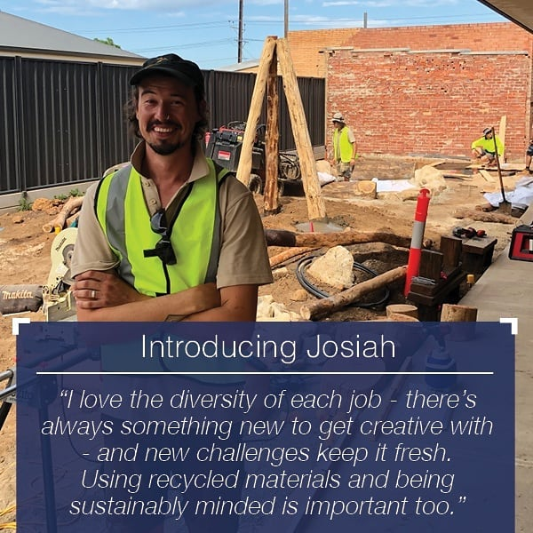 📢 INTRODUCING JOSIAH 📢  Starting out as a gardener for a winery in the Adelaide hills, Josiah then studied landscaping and had his own business in Tasmania. After returning to Adelaide and working in the industry, he joined @endemicenviro 3 years ago and thrives on turning a blank canvas into something special 🌱 Love your work on @goodstartmoments_ at Underdale, can't wait to work with the Endemic team again soon 👍  #plantsforlife #landscaping #forthekids #playground #childcarecentre #goodstart #constructioncomplete #teamwork