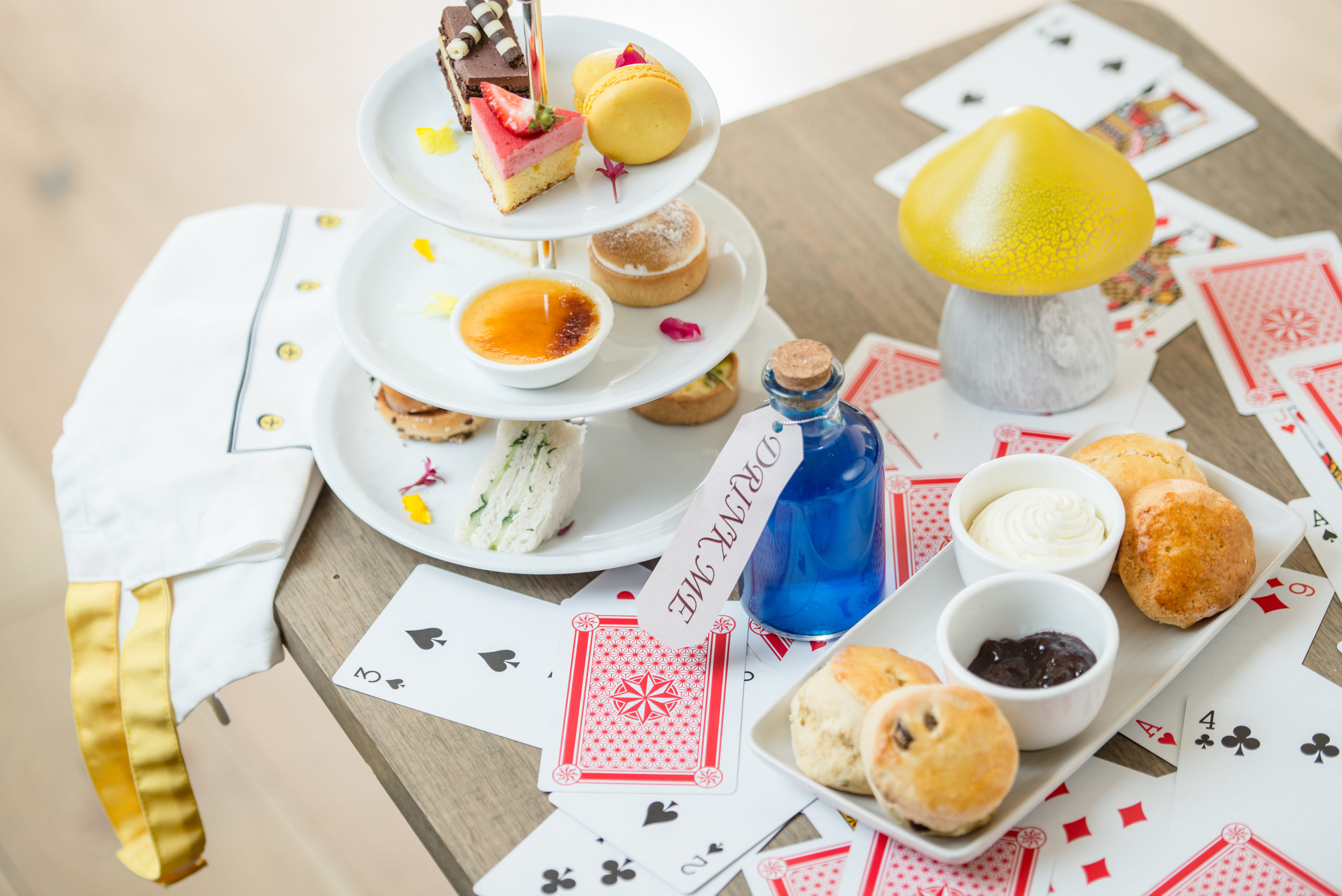 Mad hatter themed Easter high tea