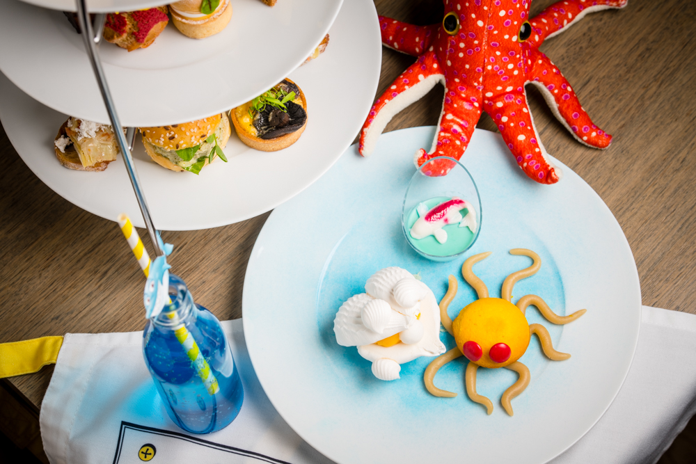 Ocean themed desserts and cakes