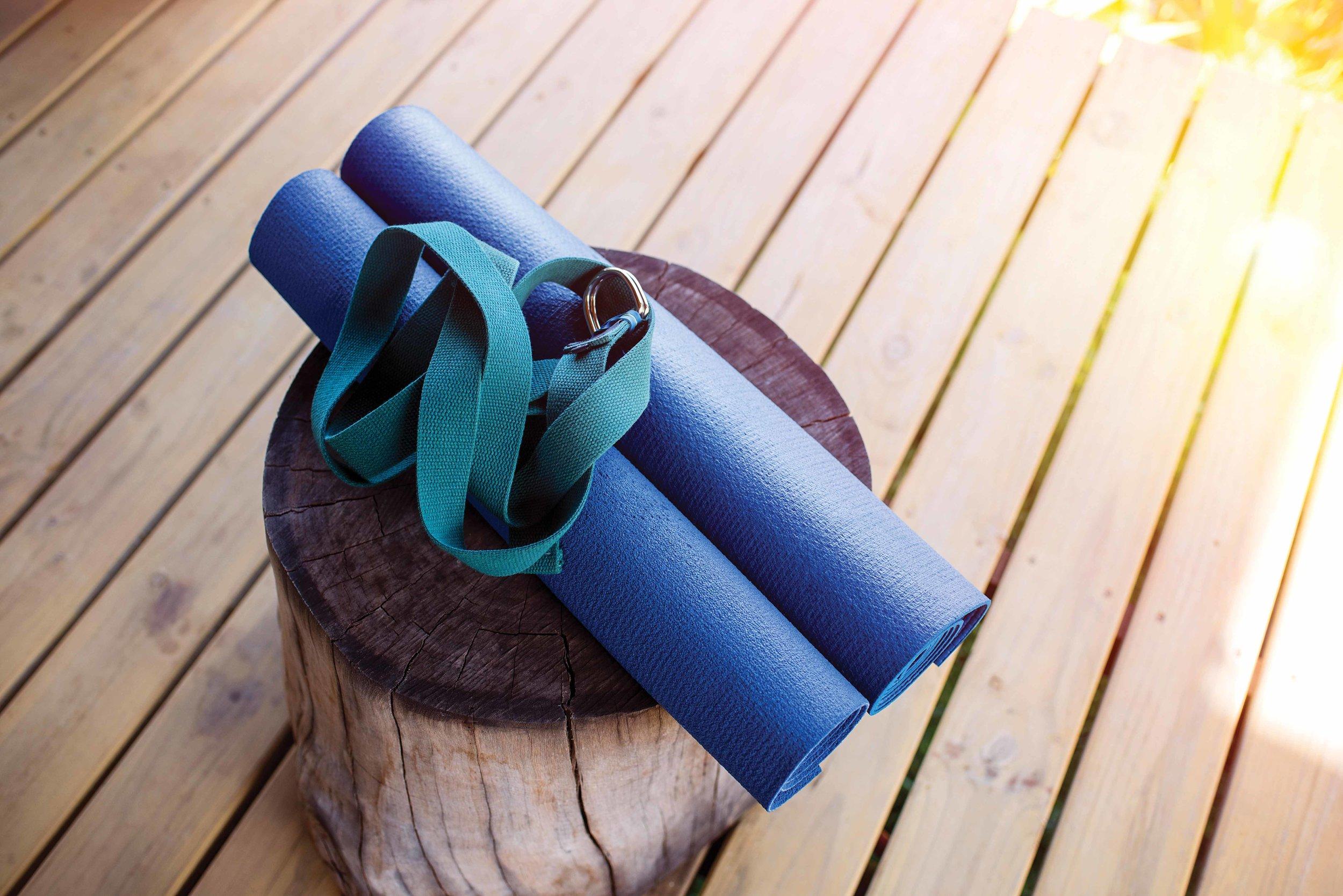Pilates and yoga equipment