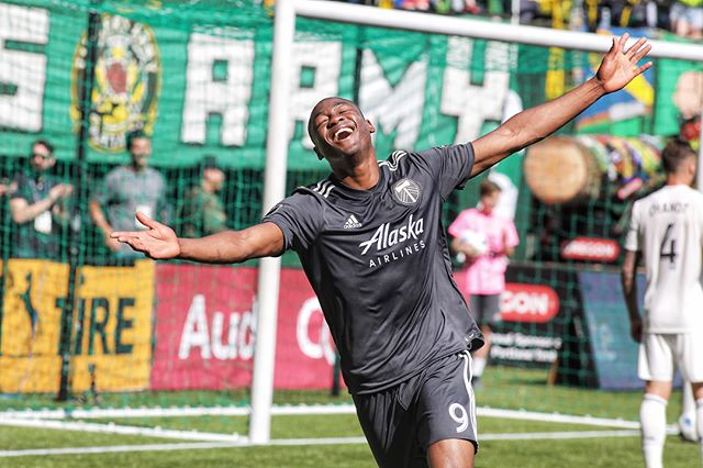 Goals inspire the purest form of joy. . . . #rctid #portlandtimbers #timbers#ptfc #goalcelebration