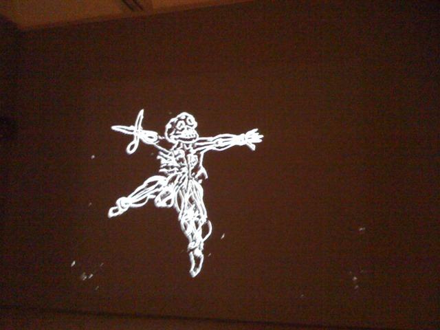 William Kentridge's Image from SFMOMA Exhibit