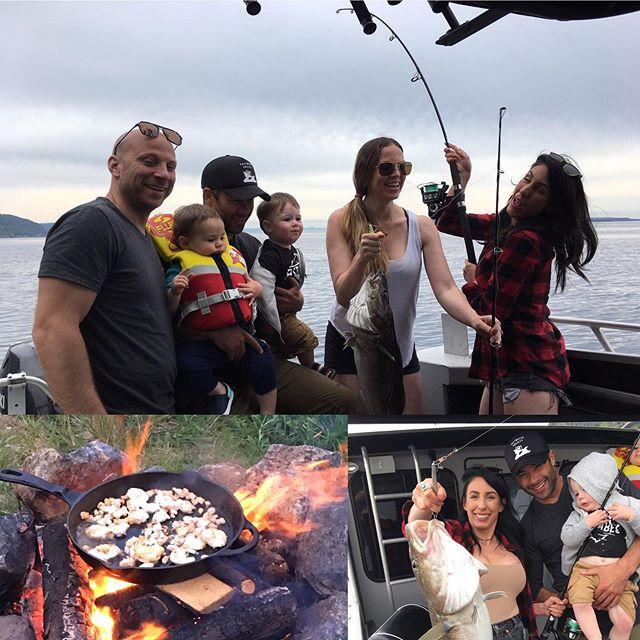 Fish On!  #saltwaterchartersnl #explorenl #newfoundland #northatlantic #oceanlife #boatcharters #deepseafishing #codjigging