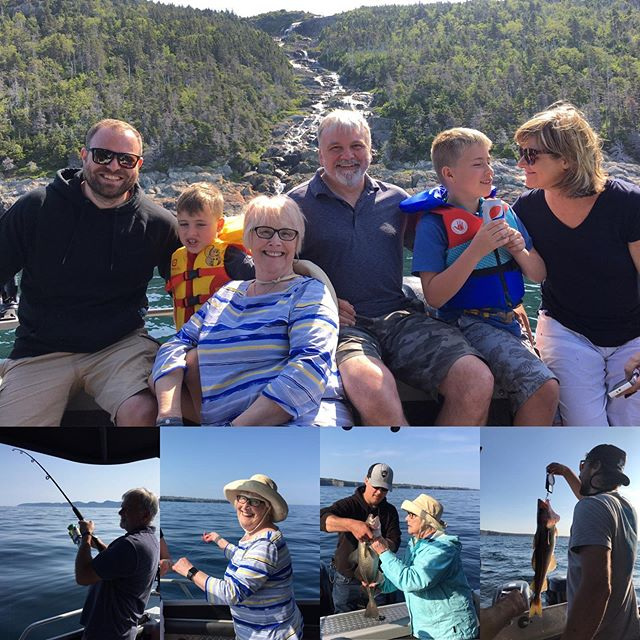 Family fun on the water. Come make some memories out with yours!  #family #saltwaterchartersnl #explorenl