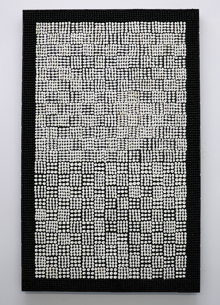 """WOVEN, 48"""" x 30"""" (SOLD)"""