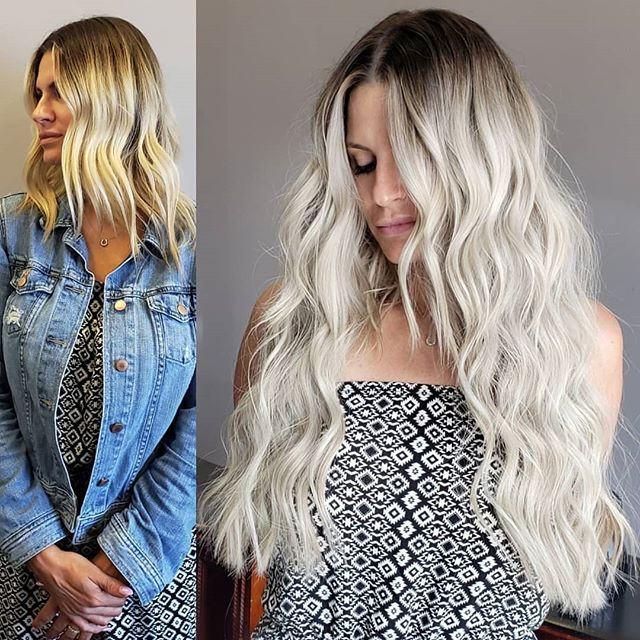 ". . Icy blonde with 22"" NBR extensions! . Click the link in my bio to apply for NBR extensions and custom color! 👆 . . . . . . . . . . . . . . . . . #nbrextensionschicago #nbrchicago #nbrcertifiedillinois #nbrillinois #nbrextensions #hairstyletrends #longhairstyleswoman #instahair #handtiedwefts #longhairdontcare #victoriasecrethair #beadedwefts #hairgoals #blonde #beachywaves #chiagoil #oakbrooknbr #oakbrookil #extensionsbymanisha #icyblonde #icyblondehair #nbrcertifiedchicago #handtiedhairextension #momlife #ilovesummer #tapeinextensions #fusionextensions #platinumblonde #chicagohairextensions  #thinhairsolutionsforwomen"