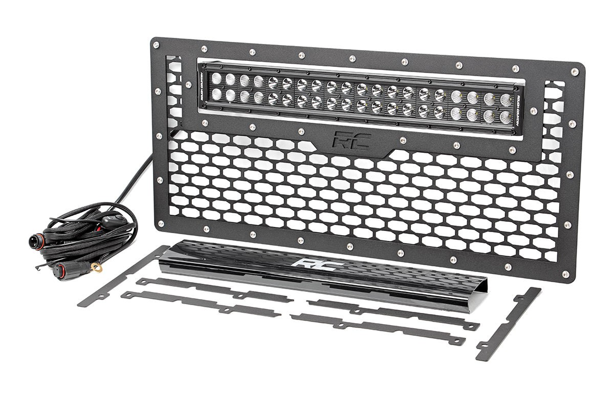 Mesh Grille w/ 20-inch Light Bar