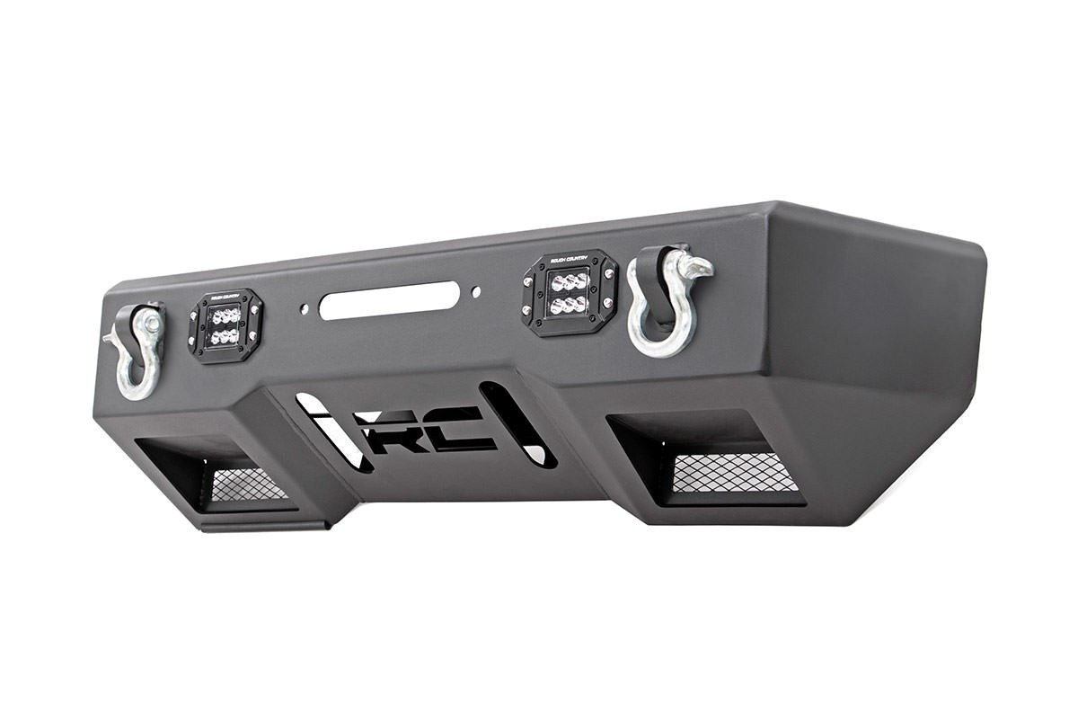 Front Stubby LED Winch Bumper