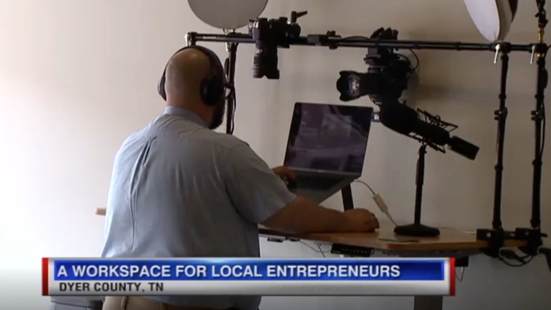 Local entrepreneur hopes to help others with shared workspace 1.jpg