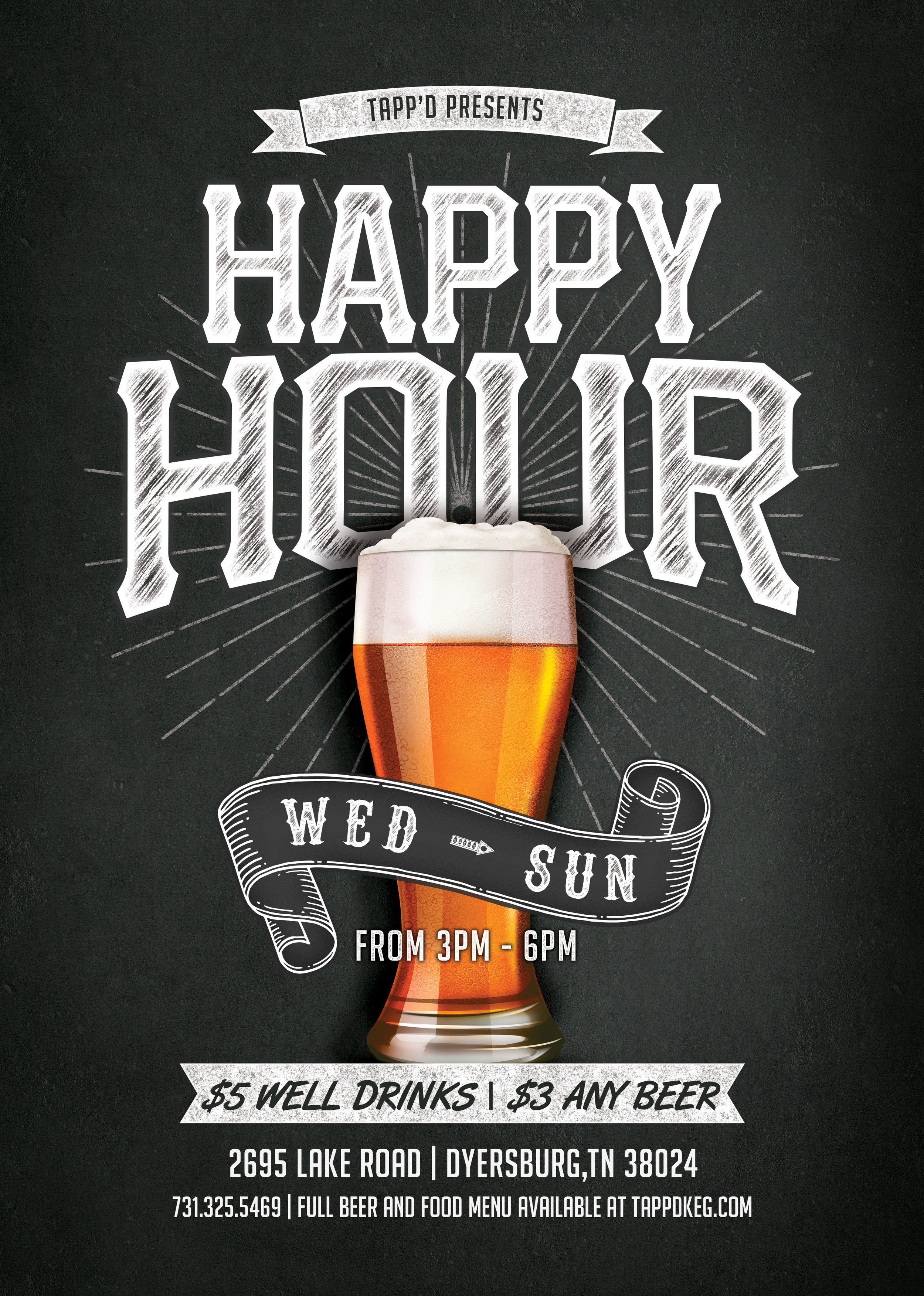 TAPP'd Bar & Grill (Flyer)